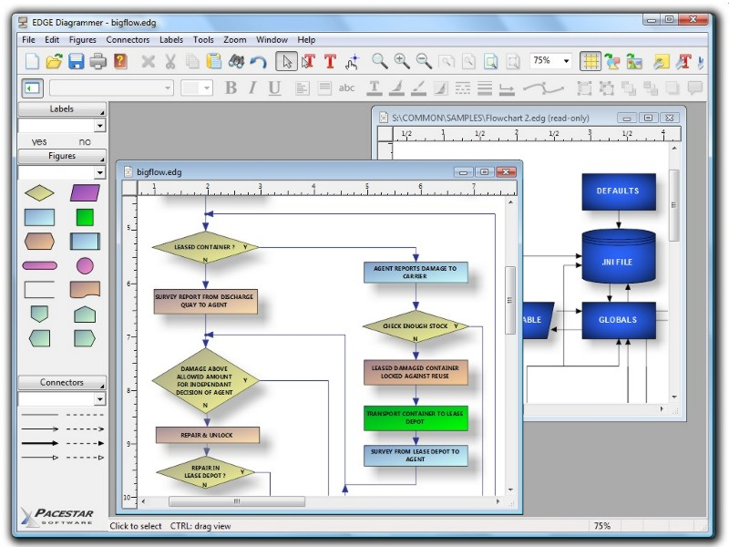 EDGE Diagrammer Screen shot